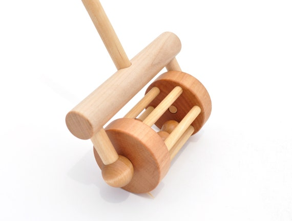 Pull Toys For Girls : Wooden push toy and pull rattle wood for toddlers