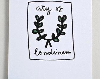 Very Short History of London Calendar