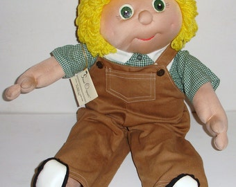 Larry is a 24 Inch Soft Sculpture Doll Ready for Play - Sarah Originals Dolls