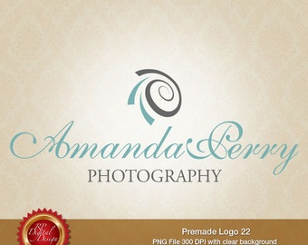 Premade Logo and Watermark, custom business logo - pml-22