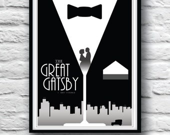 Poster Great Gatsby Etsy