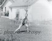 Vintage Photo ~ sprinkler boy ~ Summer Fun!