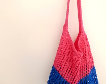 Market bag in cotton