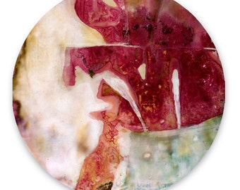 Circle Abstraction Series ... No. 30 ... Original Contemporary Modern circle painting by Kathy Morton Stanion EBSQ