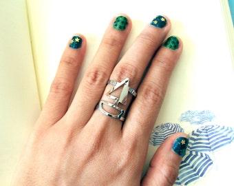 SAIL BOAT ring (free shipping)