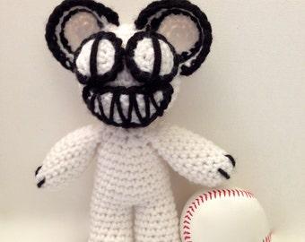 Crochet Radiohead Scary Bear