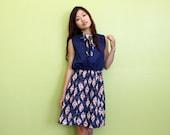 Size S-M / AU8-12 DIVINE 90's Japanese Dress