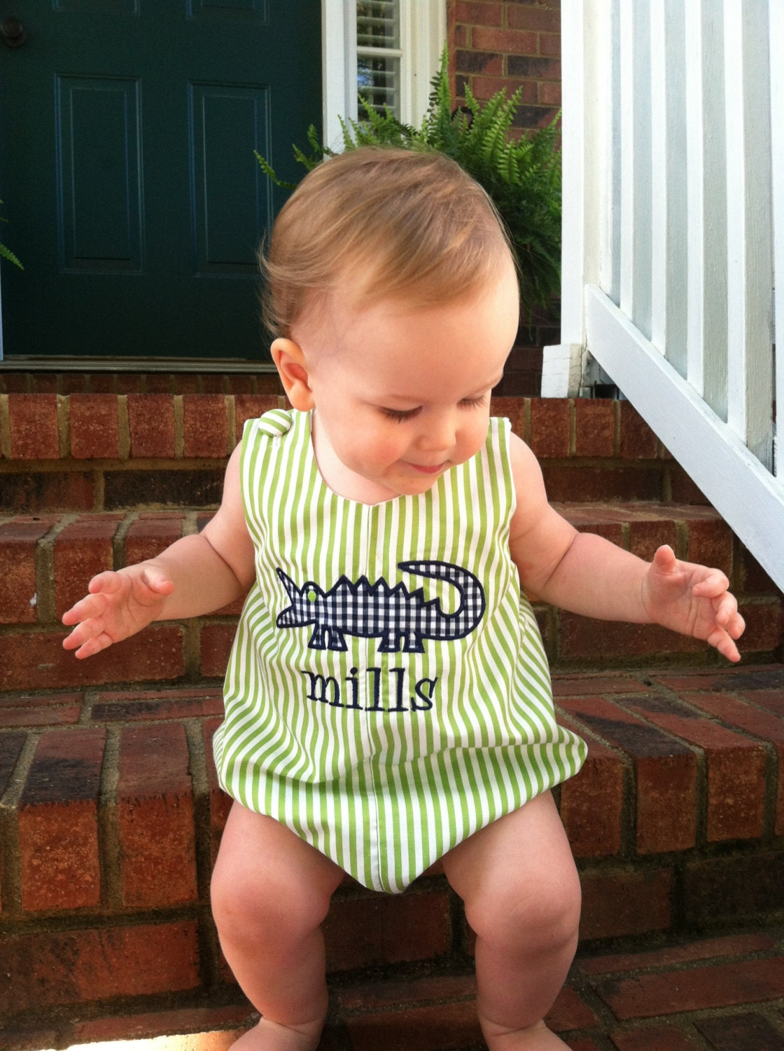 Shop baby girls & boys bubble clothing at Smocked Auctions. Buy classic smocked and monogrammed children's clothing online for newborns, babies, toddlers, and kids. JavaScript seems to .