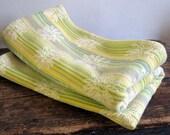 Daisy throw blanket 60s 70s