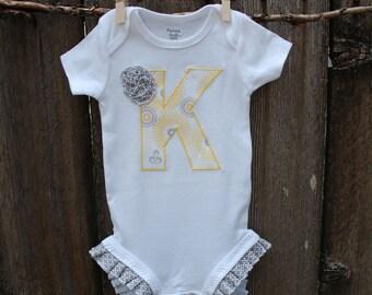 Personalized Baby Gift Girl Newborn Girl Baby Shower Gift Personalized Baby Girl Clothes Baby Clothes Baby Bodysuit