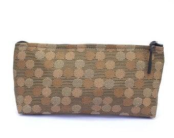 """Tatami Brown Cosmetic/Pencil Bag """"Melrose"""""""