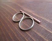 The Double Finger Bar Ring - Size 8