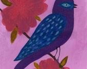 Purple Martin Print