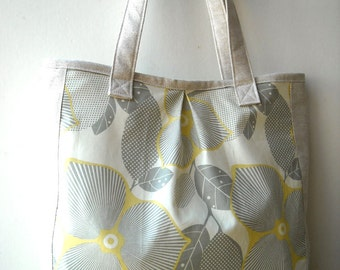 Silver Leves - Market Tote Bag