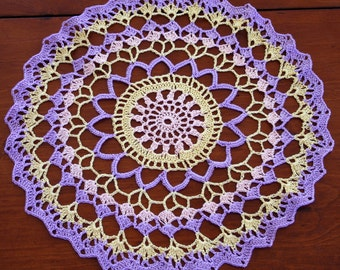 Joy of Spring Lace Doily Crochet Pattern