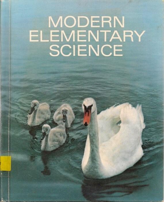 VINTAGE KIDS BOOK Modern Elementary Science