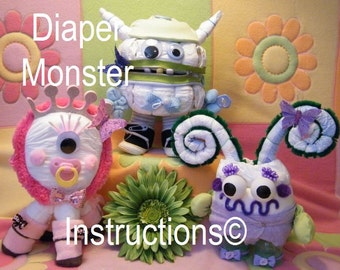 Instructions To Make This Adorable Babys 1st By