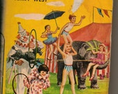 Vintage Hardcover Happy Hollisters At Circus Island