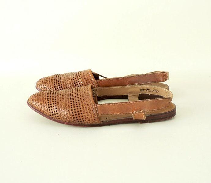 Unique Women39s Black Huarache WovenLeather Sandals