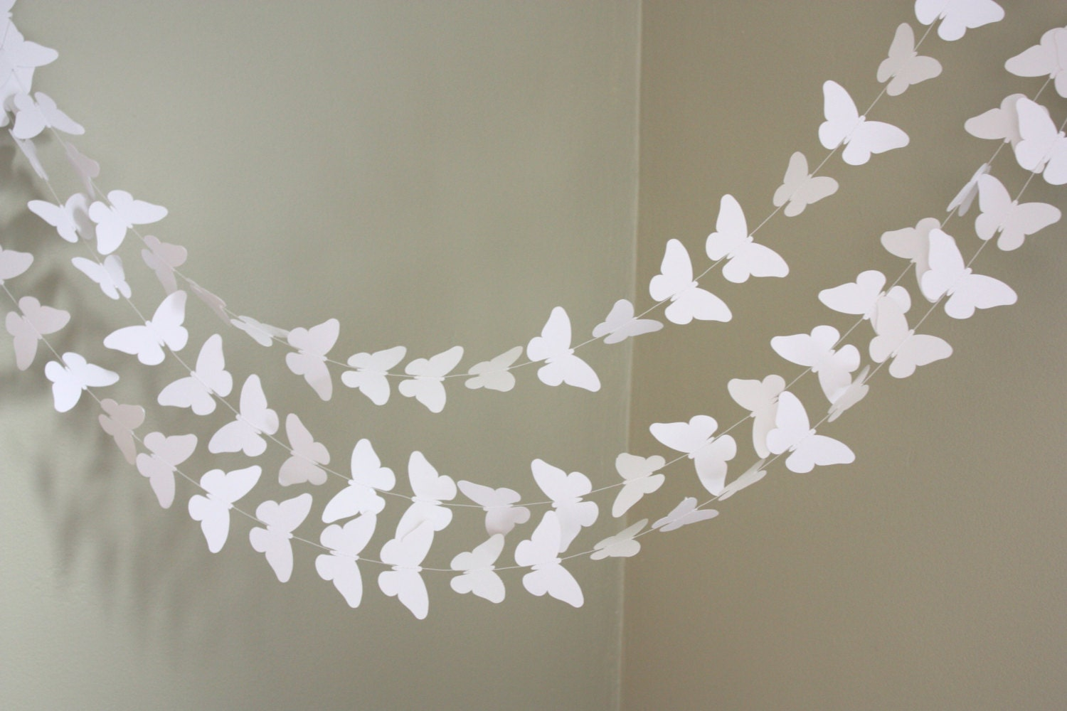 Popular items for paper garland on Etsy
