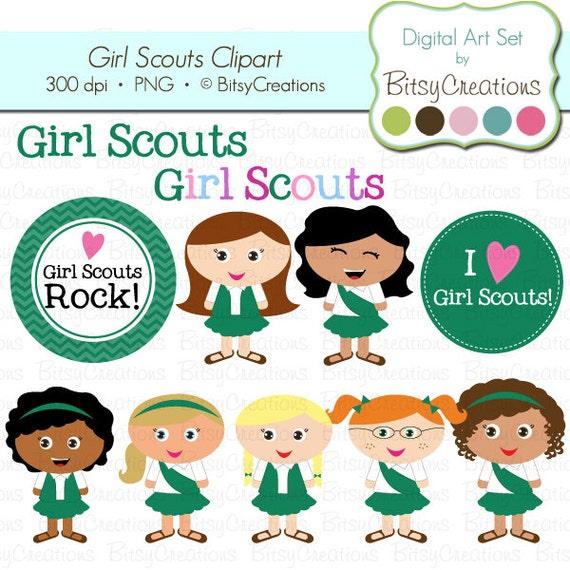 clip art free girl scouts - photo #25