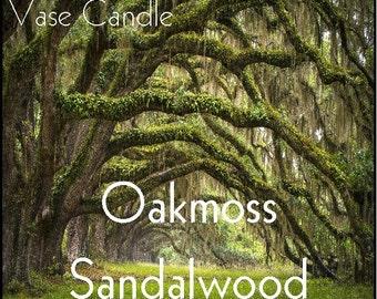 Oakmoss Sandalwood Vase Candle Wax Tart Melts