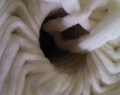 White Cormo Wool Top 4 oz