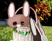 Easter Bunny Mask with US Priority Shipping