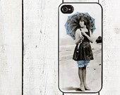 iphone 6 case Vintage Beach Flapper Phone Case - for iPhone 4,4s or iPhone 5