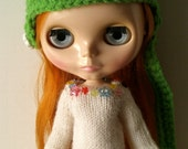 Blythe Doll Long Johns White with Rainbow Sprinkles