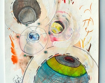Leave Behind All That You Know - Original Contemporary Abstract Art