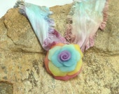 Rose Pendant   - Over the Rainbow