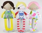 SALE Alice & Alfie Doll PDF Pattern