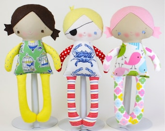 SALE Alice & Alfie Doll PDF Pattern