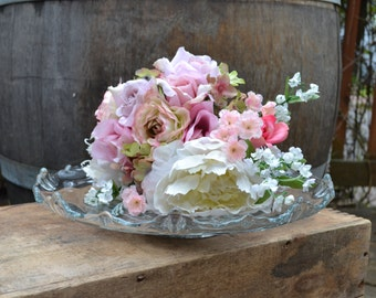 Vintage Clear Cake Stand