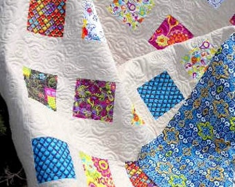 Owl Watch Over You - Baby Quilt