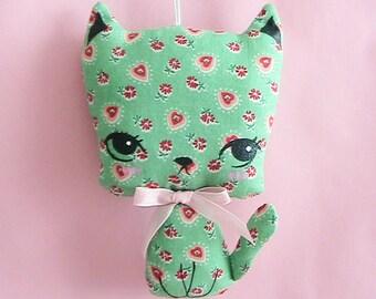 Little Kittie Plush Ornament - Flora (Choose Favorite)