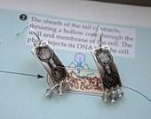 Phage Earrings