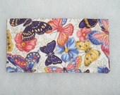 Checkbook Cover - Butterflies