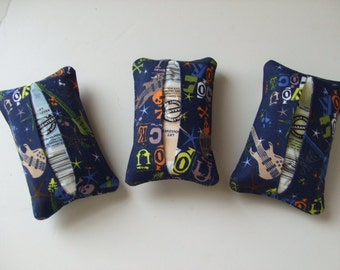 Tissue Holders and Hand Sanitizers - Rock - Allergy Sufferers - Set of 3