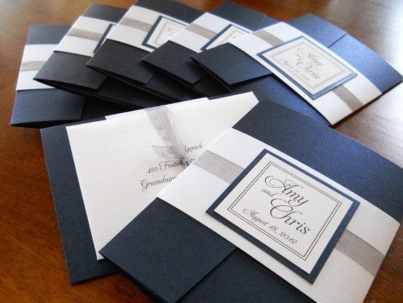 Wedding Invitations With Pockets Folders was great invitations sample