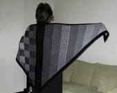Illusion Knit Shawl - PDF pattern - Illustriation