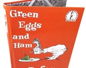 Ereader Cover for Kindle, Kobo, Nook or IPad Mini Cover - Dr. Seuss Green Eggs and Ham Book - Gadget Tablet Device Cover - retrograndma