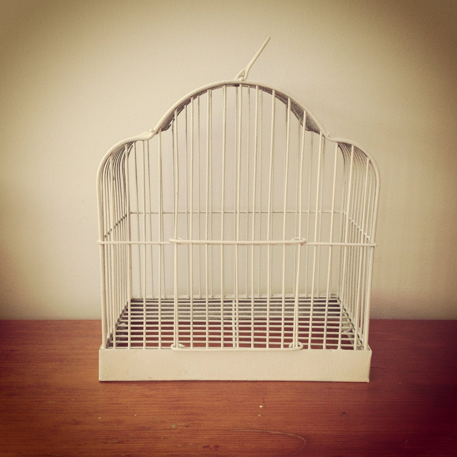 White Bird Cage Shabby Chic Bird Cage By Lillyqueenvintage