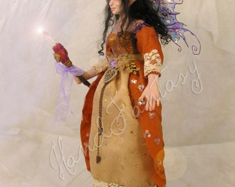 Warrior Fairy. Protectress witch