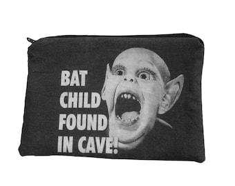 Bat Boy Zipper Pouch