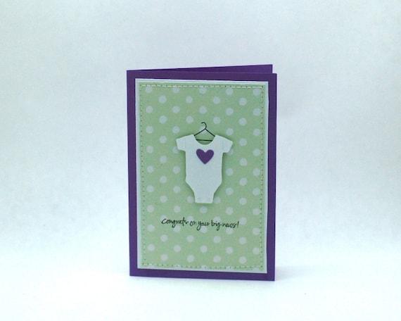 Congrats on your Big News Pregnancy Congratulations Card