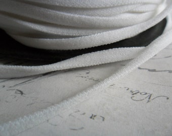 White Lycra Elastic Cording 5mm