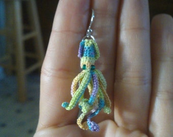 Mini-Squid Earrings