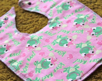 The Frog Prince Baby and Toddler Bib